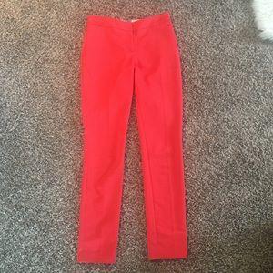 H&M orange dress pants